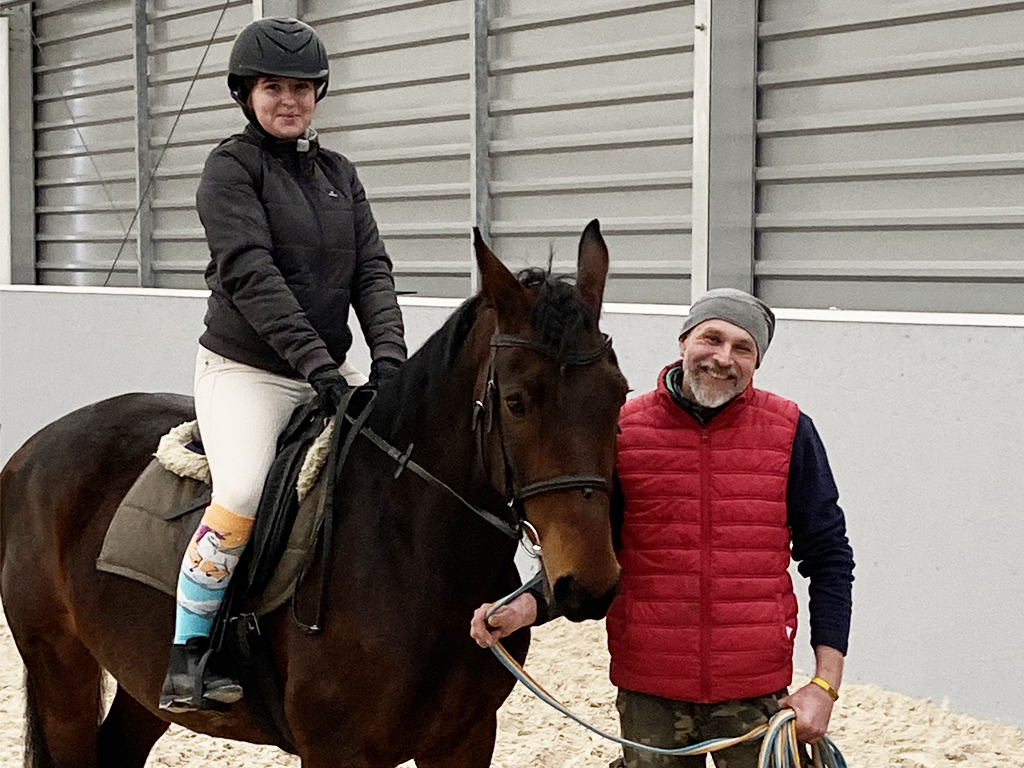 Wykwalifikowany opiekun koni, instruktor jazdy